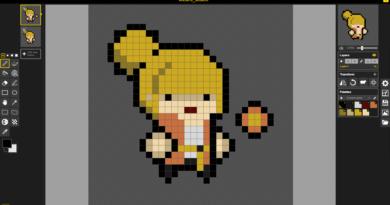 Pixel Art editory - Piskel